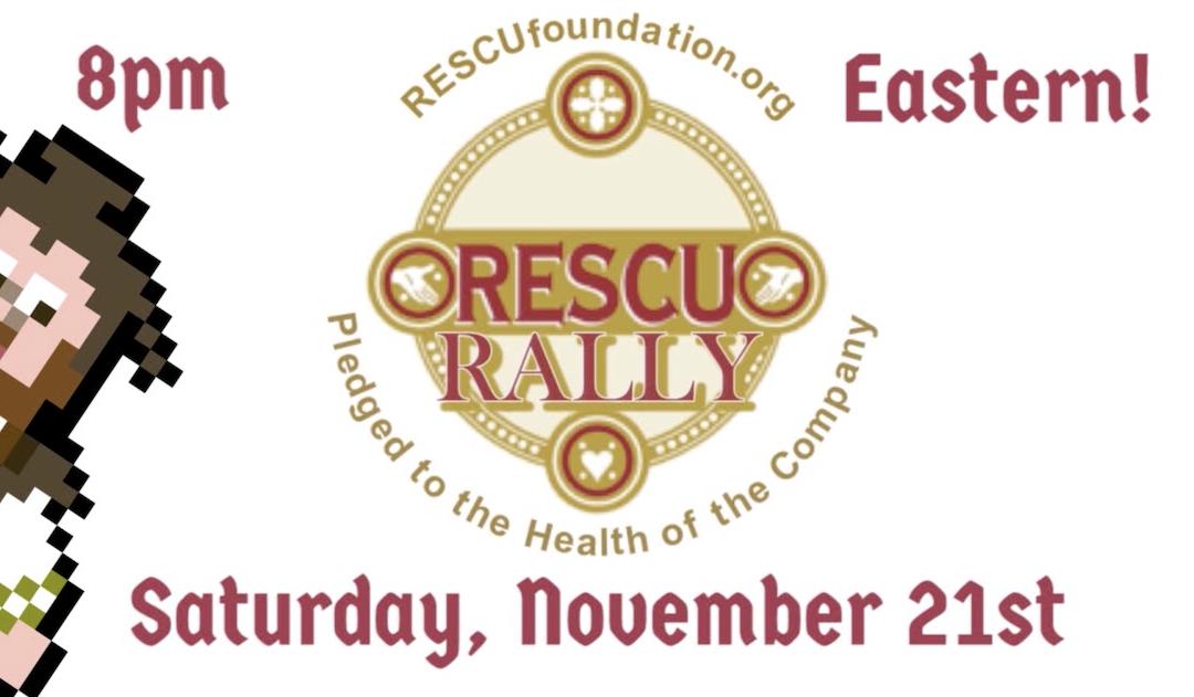 November RESCU Rally